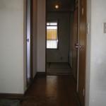 扉の向こうは、和室4.5帖を洋室4.5帖へ・・・