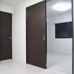 * 和室をフローリングの洋室に・・・<br /> * 襖を引き戸に替えることにより、モダンな雰囲気に。