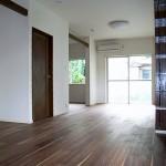 *after<br />      LDK16.5帖へ・・・<br />   DKと和室の間にあった壁を壊し、広がりのある空間へ。